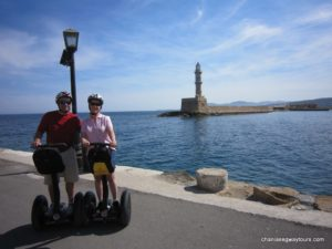 Discover Chania with a Segway